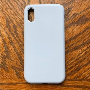 Silicone iPhone XR case